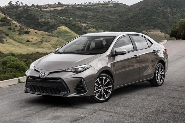 Toyota Corolla là mẫu ô tô bán chạy nhất thế giới trong 8 tháng đầu năm 2018