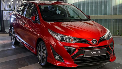 Toyota Vios 2019 giá 400 triệu chuẩn bị về Việt Nam sở hữu tính năng gì?