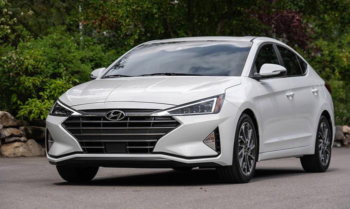 Hyundai Elantra 2019 lắp ráp trong nước chuẩn bị ra mắt được trang bị gì?