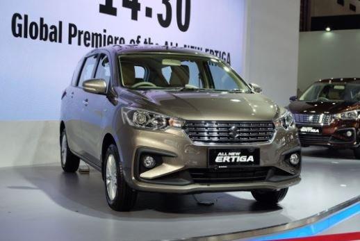 Suzuki Ertiga 2019 đẹp 'long lanh' vừa ra mắt giá hơn 400 triệu được trang bị gì?
