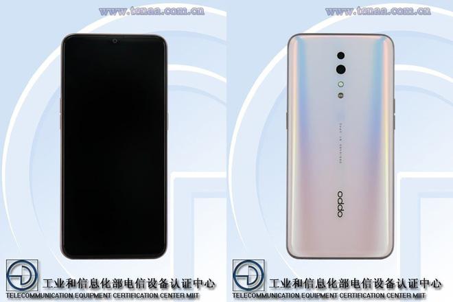 Oppo Reno 10X Zoom qua mạng xã hội Weibo.
