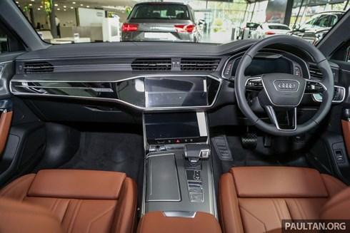 Audi A6 thế hệ mới vừa ra mắt thị trường Đông Nam Á được trang bị công nghệ gì?