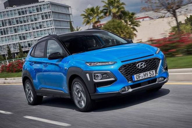 Hyundai Kona hybrid 2019 đẹp 'long lanh' vừa ra mắt được trang bị những gì?