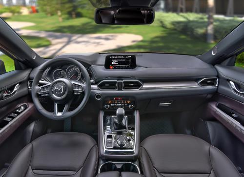 Các chi tiết trên Mazda CX-8 được chăm chút tỉ mỉ