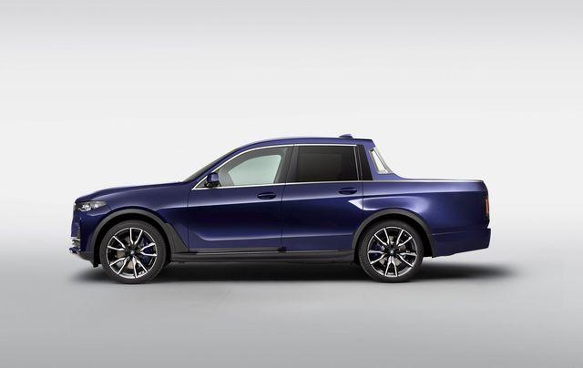 'Khám phá' BMW X7 phiên bản bán tải vừa lộ diện
