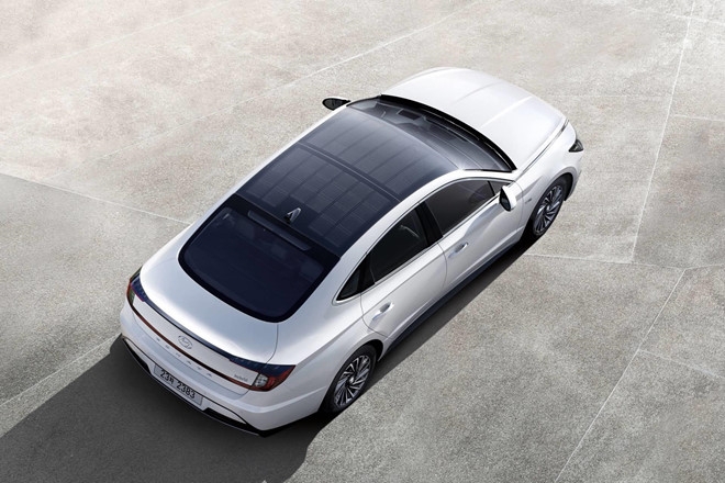 'Khám phá' công nghệ trên Hyundai Sonata Hybrid 2020 vừa được ra mắt