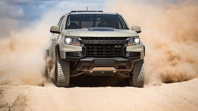 Chevrolet Colorado 2021 đẹp 'long lanh' vừa ra mắt được trang bị những gì?