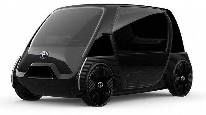 'Cận cảnh' xe điện hai chỗ ngồi siêu nhỏ của Toyota vừa được ra mắt