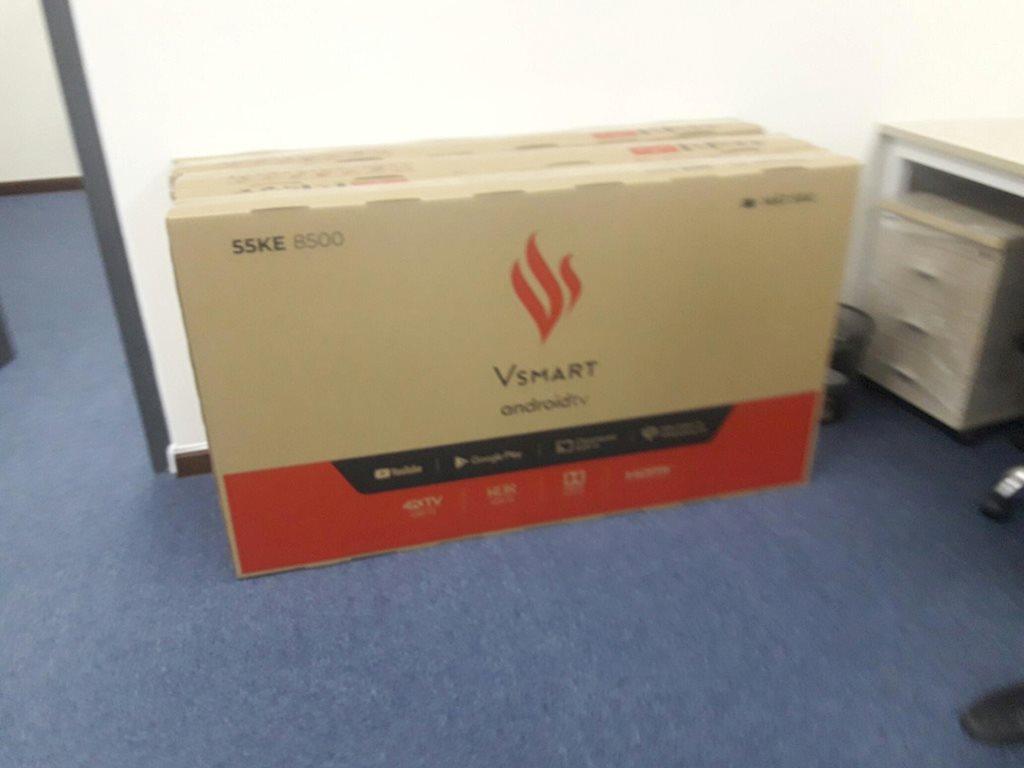 Vingroup sắp cho ra mắt thị trường Việt tivi thông minh 55 inch?