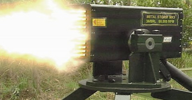 Khẩu súng máy có thể bắn 1 triệu viên đạn chỉ trong 1 phút