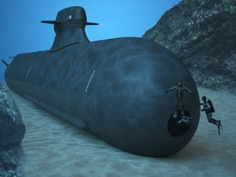 Tàu ngầm Type A26 do công ty Saab của chính Thuỵ Điển chế tạo.