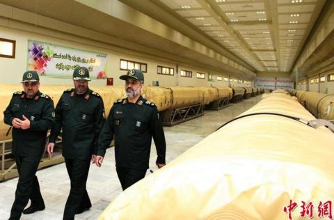 Bên trong kho tên lửa hạng nặng của Iran
