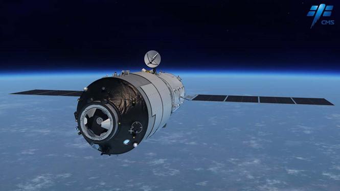 Trạm không gian Thiên Cung 1 của Trung Quốc đang rơi tự do mất kiểm soát
