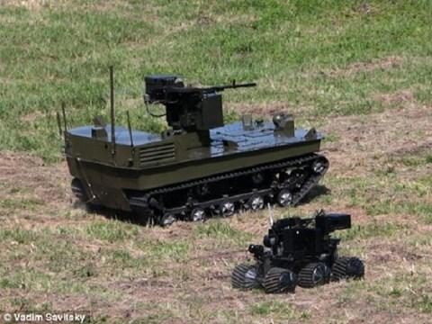 Đội quân robot của Nga sẽ do siêu máy tính điều khiển