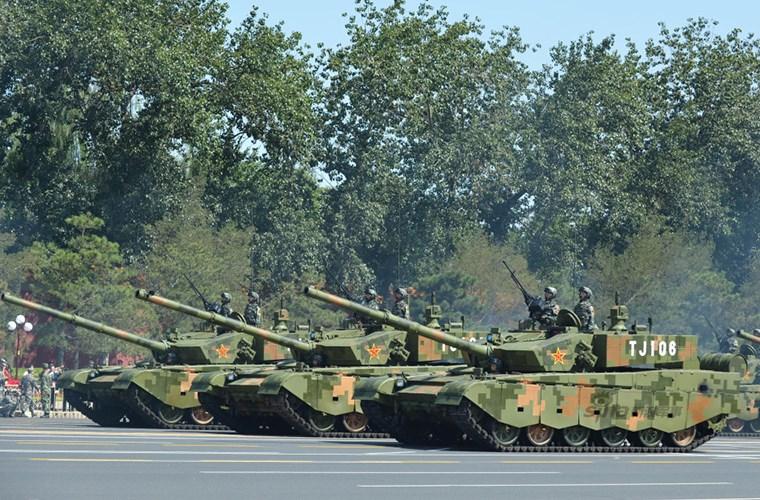Type 99 được trang bị hệ thống giáp phản ứng nổ tích hợp đa lớp.