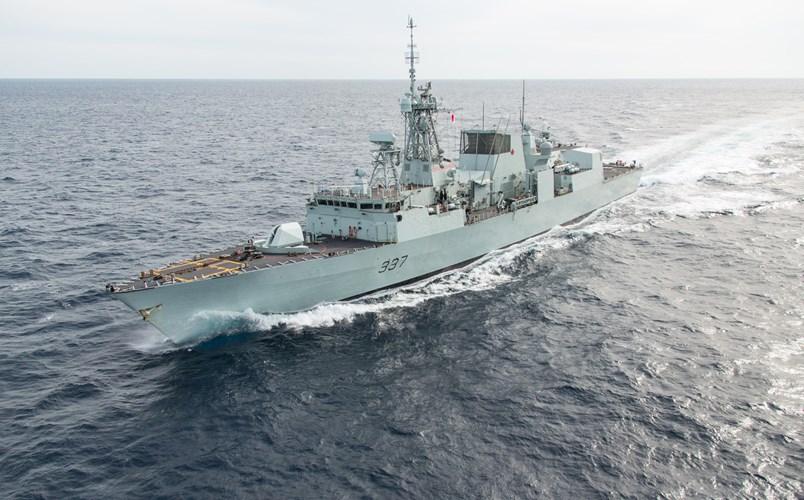 Tàu hộ vệ HMCS Vancouver Canada thăm Việt Nam lần này mang theo hơn 200 thủy thủ.