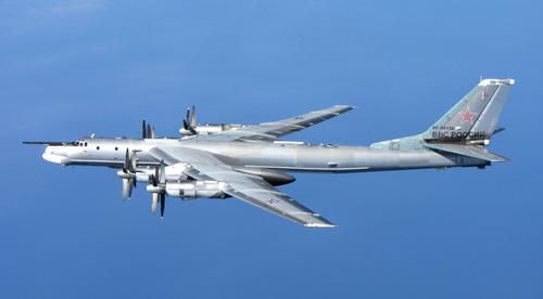 Máy bay ném bom Tu-95 được đưa vào biên chế vào năm 1956.