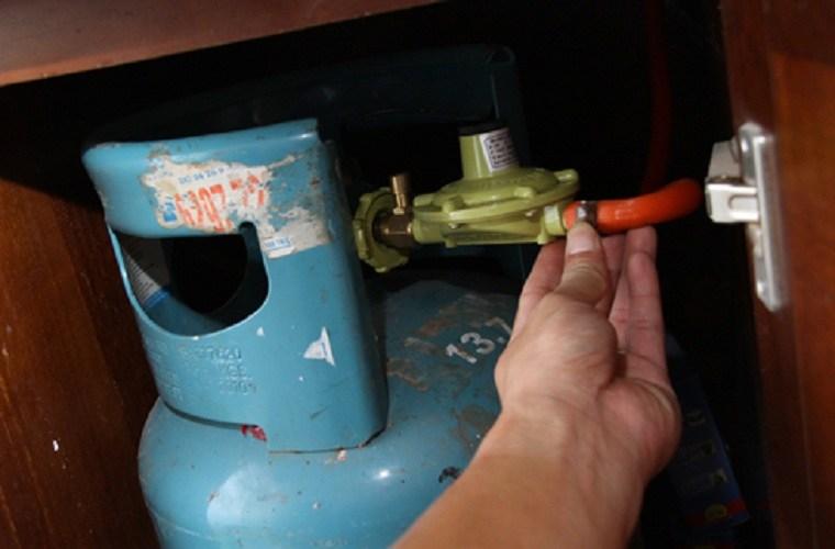 Người dùng nên cẩn thận khi dùng gas gia đình.