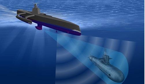 Tàu ngầm không người lái giúp Hải quân Mỹ vẫn được cho là có sức mạnh lớn nhất trên thế giới.