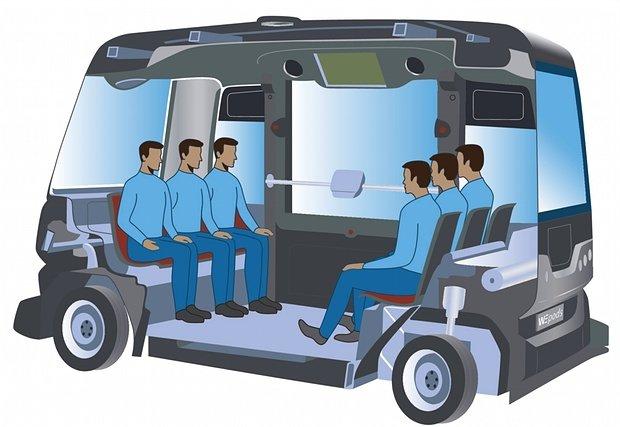 Singapore sẽ thử nghiệm một cặp xe buýt không người lái cỡ bự dài 12m