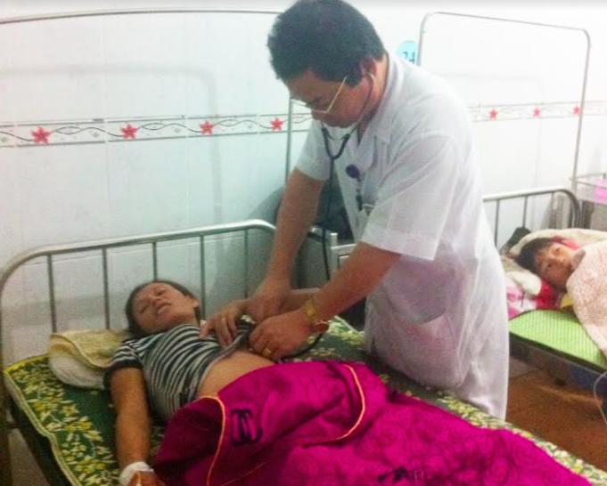 Bệnh nhân đang được điều trị tích cực tại bệnh viện