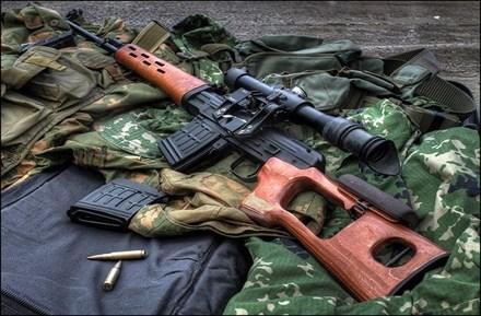 Súng trường bắn tỉa Dragunov ra đời năm 1963.