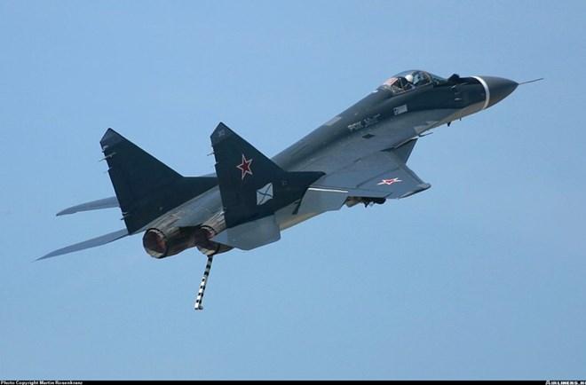 Tiêm kích MiG-29K hiện đại nhất của Hải quân Nga.