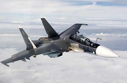 Tiêm kích Su-30SM của Nga.