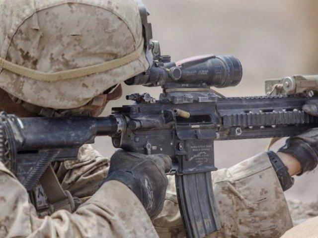 Súng trường M27 của Mỹ có tầm bắn chính xác cao.