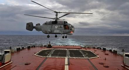 Trực thăng săn ngầm Ka-27 được ra đời từ năm 1981 dưới thời Liên Xô cũ.