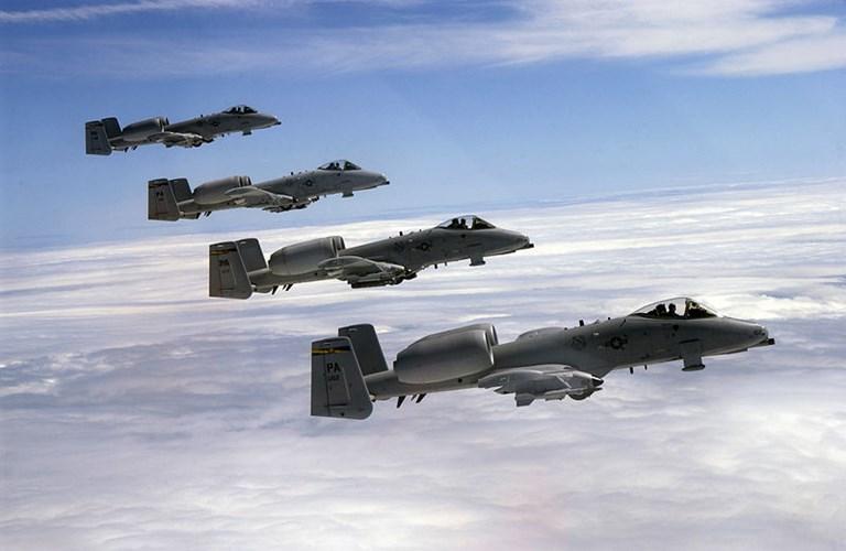 A-10 được xem là một trong những máy cường kích thành công nhất trong lịch sử Mỹ. Ảnh: Kiến Thức