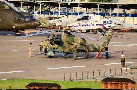 Mi-28NM còn trang bị thêm hệ thống radar 360 độ mới