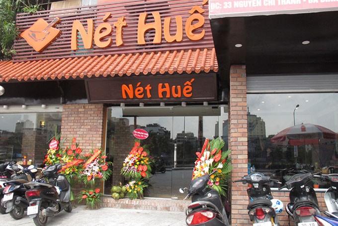 Nhà hàng Nét Huế, cấm hút thuốc lá, tác hại của thuốc lá, thuốc lá, Hộ Kinh doanh Nét Huế, Luật phòng chống tác hại của thuốc lá