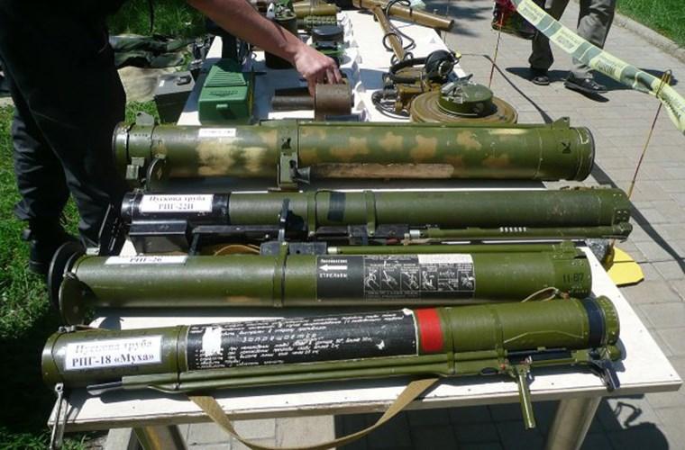 Đầu đạn nhiệt áp tiêu chuẩn của súng phóng tên lửa RPO-A Shmel rất hiệu quả trong việc tiêu diệt các mục tiêu. Ảnh: Kiến Thức