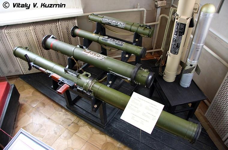 Súng phóng tên lửa nhiệt áp RPO-A Shmel được phát triển vào năm 1984. Ảnh: Kiến Thức