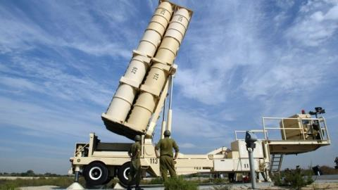 Hệ thống đánh chặn tên lửa Arrow 3 của Israel . Ảnh: VnExpress