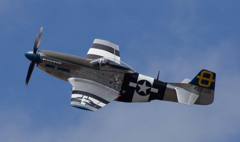 Ngoài nhiệm vụ hộ tống, P-51 còn là tiêm kích dễ dàng chiếm ưu thế trên không. Ảnh: Kiến Thức