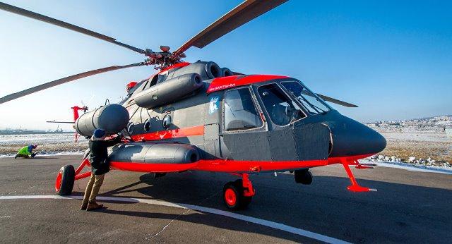 Trực thăng Mi-8AMTSh-VA. Ảnh: TTXVN