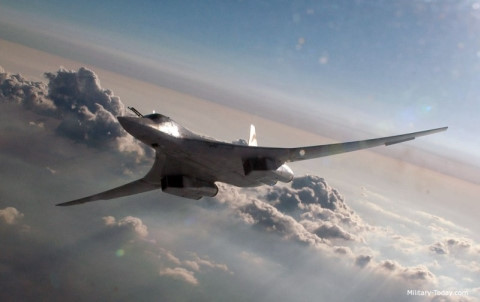 Oanh tạc cơ Tu-160M2 sẽ có uy lực gấp đôi phiên bản cũ. Ảnh: VOV