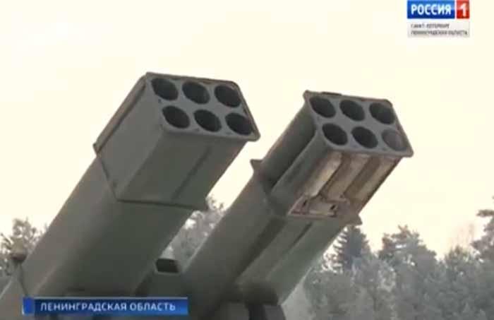 Pháo phản lực Uragan-1M đã nâng tầm bắn tối đa lên đến 120 km. Ảnh: VnExpress.