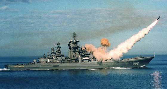 Nga hiện có 3 chiếc tàu tuần dương hạt nhân mang tên lửa điều khiển lớp Kirov. Ảnh Zing News