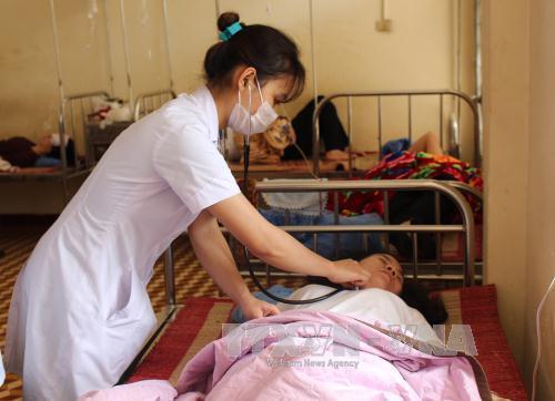 Vụ ngộ độc thực phẩm ở Đắk Lắk khiến 21 người nhập viện. Ảnh: TTXVN