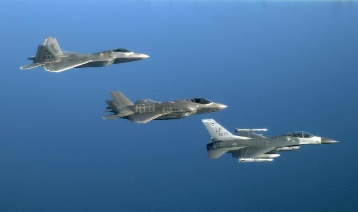 Tiêm kích F-35 tối tân và nguy hiểm số 1 thế giới của Mỹ. Ảnh: Zing News