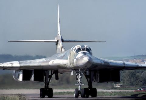 Máy bay ném bom Tu-160M2 dự kiến sẽ là trụ cột chính của Không lực Nga trong tương lai. Ảnh: Đất Việt