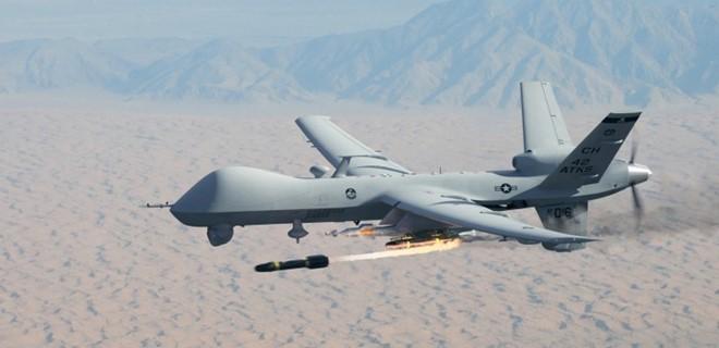 Máy bay MQ-9 Reaper có trọng lượng khoảng 4.500kg và đang là lựa chọn số 1 của quân Mỹ trên chiến trường. Ảnh: Zing News
