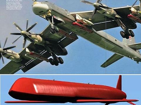 Tên lửa Kh-101 có chiều dài 7,45 m, đường kính 0,51 m, trọng lượng 2.300 kg. Ảnh: an ninh Thủ Đô