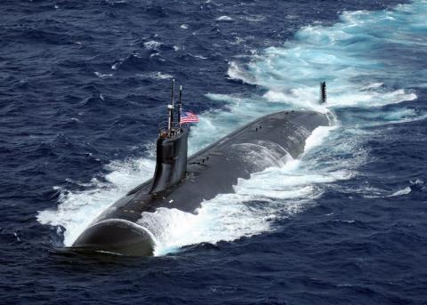 Tàu ngầm lớp Los Angeles của Mỹ. Ảnh: Đất Việt