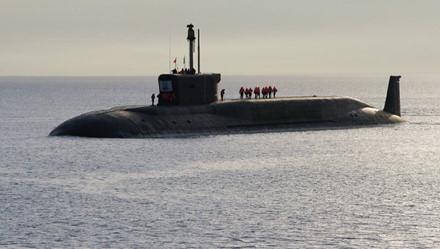 Tàu ngầm Yuri Dolgoruky khi hoạt động sẽ vận hành siêu êm. Ảnh: Lao Động