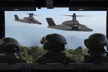 Trực thăng V-280 vào khoảng tháng 9/2017. Ảnh: Lao Động