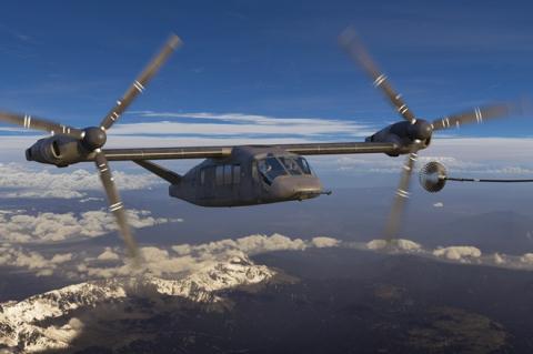Trực thăng V-280 của Mỹ. Ảnh: Đất Việt